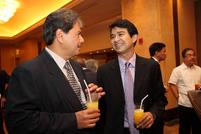 Enrique Alberto, AsianLife Financial Assurance; Sato Ridad, ATR KimEng Securities