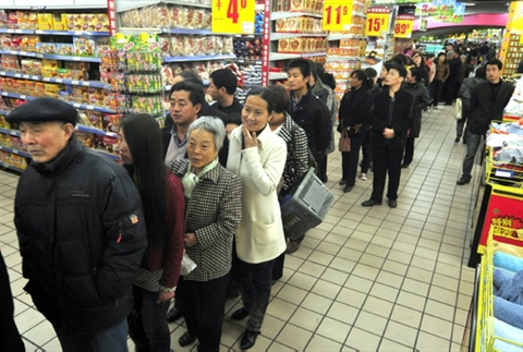 China's shoppers will fuel growth