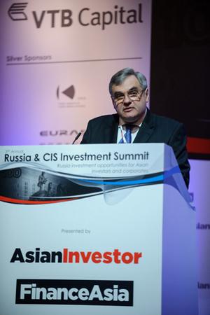 Vladimir Kalinin, consul-general of the Russian Federation in Hong Kong and Macau