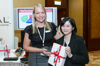 Sponsor Reval gives away an iPad 3 to a lucky delegate.