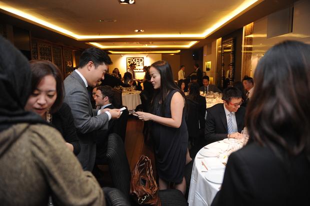 Cocktail reception