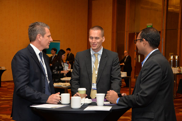 Delegates at the 3rd Anunal Borrowers & Investors Forum, Southeast Asia