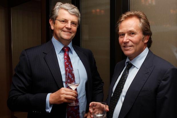 John Martin of Aquasia and Rick Ball of Morgan Stanley