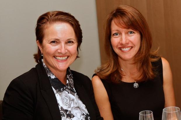 FinanceAsia's Australia team: Vicki Shaw and Cherie Marriott
