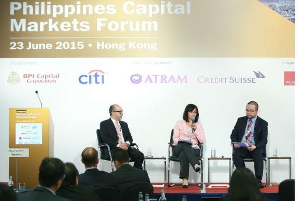 M&A session [l-r] Agustin Montilla, Sophia Cheng and Chunshek Chan