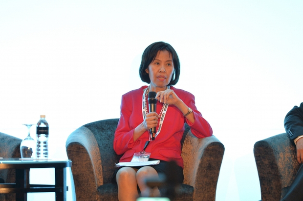 Kittiya Todhanakasem, first senior executive vice president, managing director financial management group, Krung Thai Bank