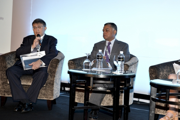 Kaushik Rudra, head of rates and credit research, Standard Chartered Bank, Boo Hock Khoo, Vice President, CGIF