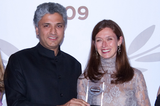 Morgan Stanley's Gokul Laroia and Kate Richdale picks up the award for Best Investment Bank