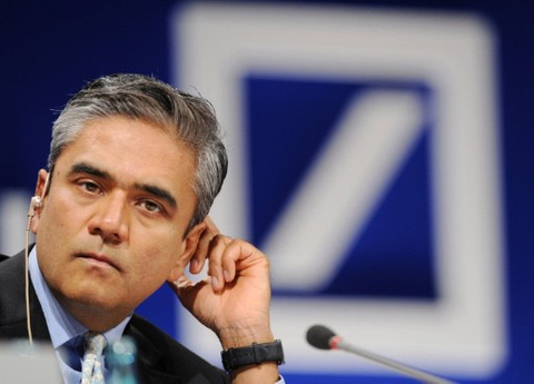 Deutsche's Anshu Jain predicts solution to eurozone debt crisis