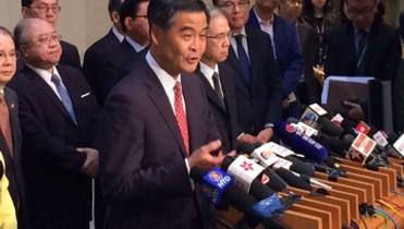 Beijing puts Hong Kong business on alert