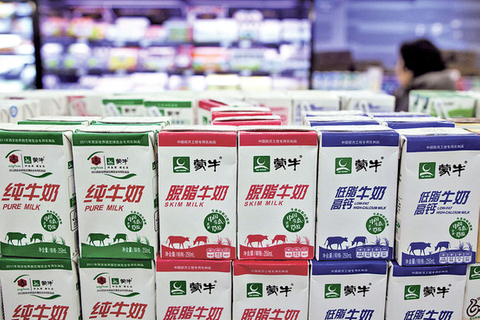 China Modern Dairy block trade raises $110m