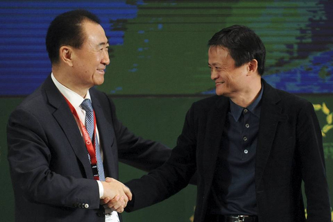 Why Jack Ma, Wang Jianlin went from foes to allies