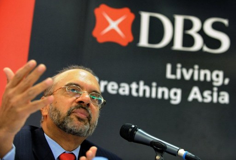 DBS chief positive despite increasing headwinds