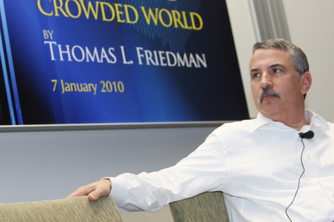 Thomas FriedmanÆs lost opportunity