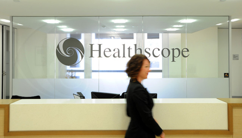Healthscope prices IPO at top
