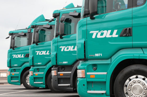 Toll Holdings' shares leap on Japan Post bid