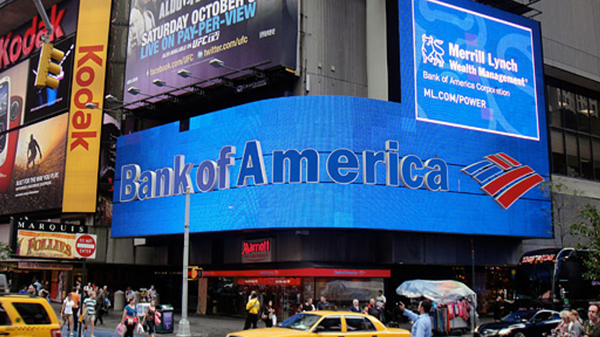 "<div style=""text-align: left;""> Bank of America: The web's most popular bank </div>"