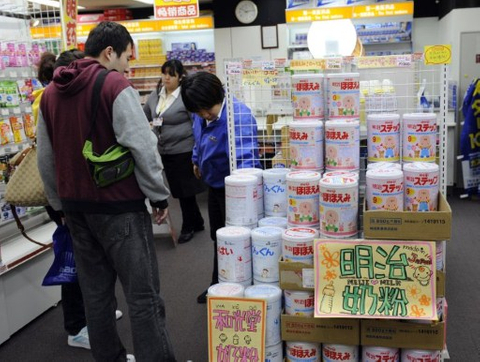 Chinese shoppers a boon to Japan's flagging retailers