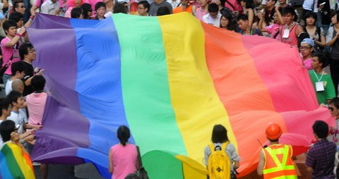 Asia bankers rally support for gay community