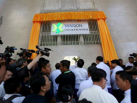 Yangon's unseemly dash for a stock exchange