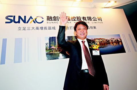 Indebted Sunac China works hard to sell $1b bond